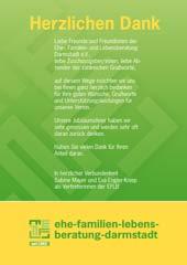 EFLB Danksagung Jubiläumsfeier